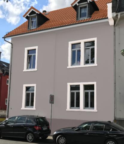 Farbe Fenster Fassade Altzutoll Bautagebuch
